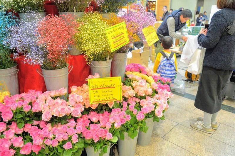 西船橋駅出張イベントバラ特価販売